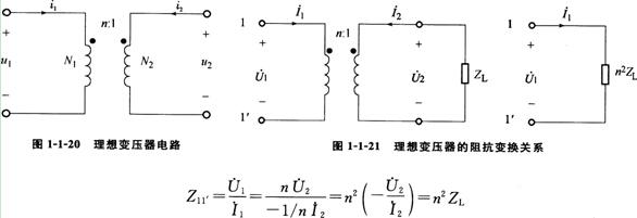 况下的耦合电感,如图卜1-20所示