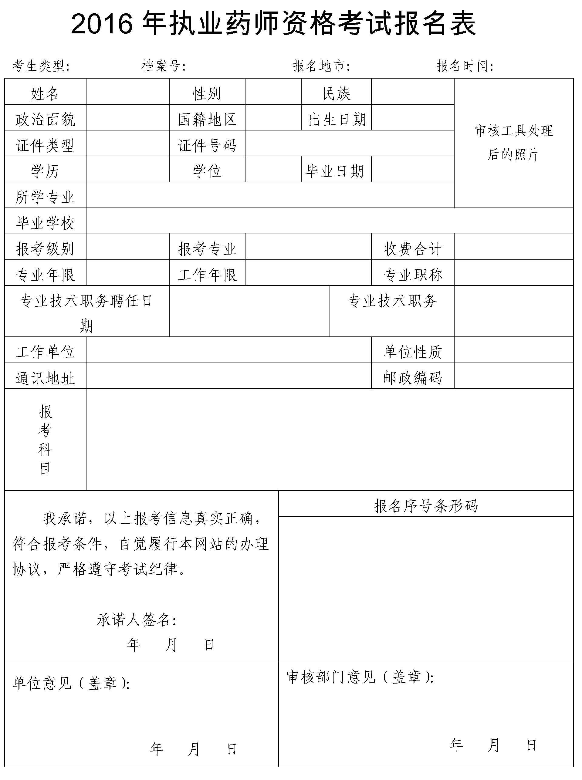 执业药剂师报名条件【相关词_ 执业药师报名时