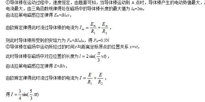 2017下半年教师资格笔试答案:高中物理学科(责编保举:数学视频jxfudao.com/xuesheng)